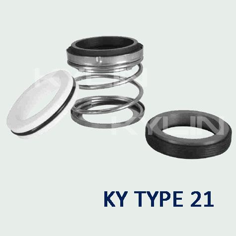 john crane type 21 ky type 21 elastomer bellow shaft seals